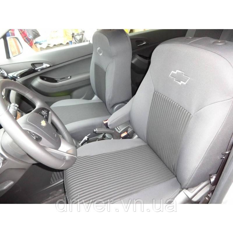 "Чехлы салона Chevrolet Aveo htb 3D с 2008 г - Elegant. - Інтернет - магазин ""driver"" в Виннице"