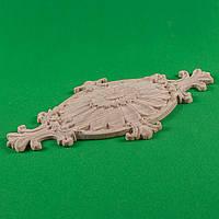Код ДЦ8. Резной деревянный декор для мебели. Декор центральный, фото 1