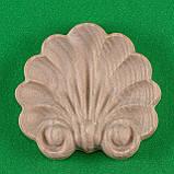 Код ДЦ13. Резной деревянный декор для мебели. Декор центральный, фото 3