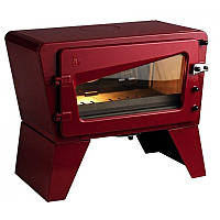 Чугунная печь Invicta Ch'ti poele красный