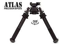 Сошки Atlas BT10-LW17 V8 с быстросъёмным креплением