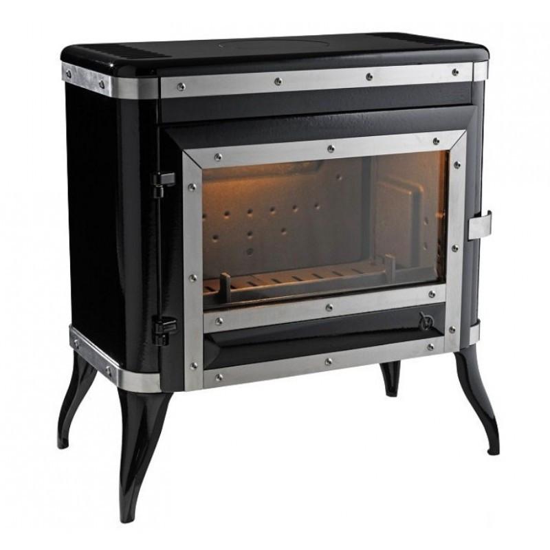 Чугунная печь Invicta Tennessee черная эмаль , фото 1