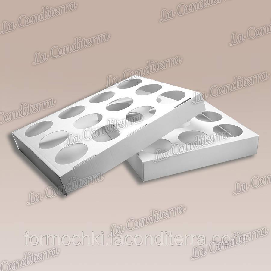 Дека для випічки кексів (діаметр комірок - 7 см)