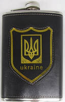 "Фляга в кож. футляре 270 мл ""Ukraine"""