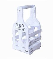 Подставка для бутылок 41х20х20 см, фото 1