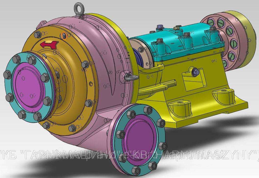 Шламовый насос ШН 250-34М