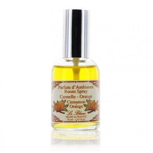 Интерьерные духи Апельсин-корица, 50 мл (LeBlanc France) Parfum d'Ambiance Room Spray Canelle-Orange Cinnamon-