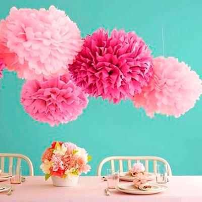 Бумага тишью - как использовать для изготовления цветов, помпонов 34