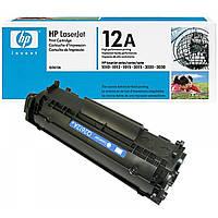 Заправка чёрного картриджа HP Q2612A(12A)
