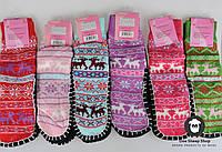 Детские носки с подошвой