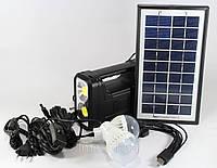 Домашняя солнечная система Solar Home System GDLite GD-8038 с солнечной батареей