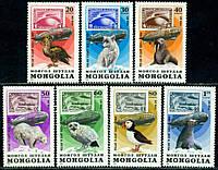 Монголия 1981 - дерижабли - MNH XF