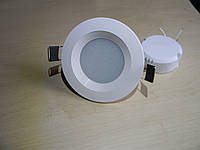 Светодиодный точечный врезной светильник LED 5 w