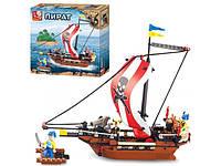 Конструктор Sluban пират, корабль, фигурки
