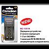 Универсальное зарядное устройство camelion bc-1001a для аккумуляторов nimh nicd 9v