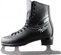 Фигурные коньки СК FASHION black NEW