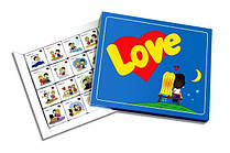 Шоколадный набор Love is Мини (12 шоколадок в коробке)