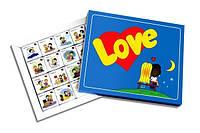 Шоколадный набор Love is Стандарт (20 шоколадок в коробке)
