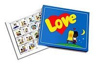 """Шоколадный набор """"Love is"""" Большой (40 шоколадок в коробке)"""