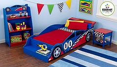 Детская кроватка KidKraft Гоночная машинка 76038