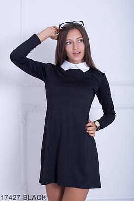 Жіноче класичне чорне плаття Beks