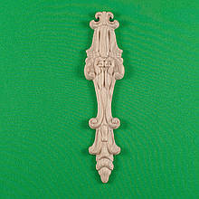 Код ДВ2. Деревянный резной декор для мебели. Декор вертикальный
