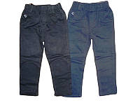 Коттоновые брюки для мальчика, размеры 110,122, Seagull, арт. DS-601