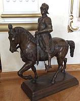 """Скульптура Всадник """"Кондотьер Коллеони""""   19 век, L.C.Busch"""