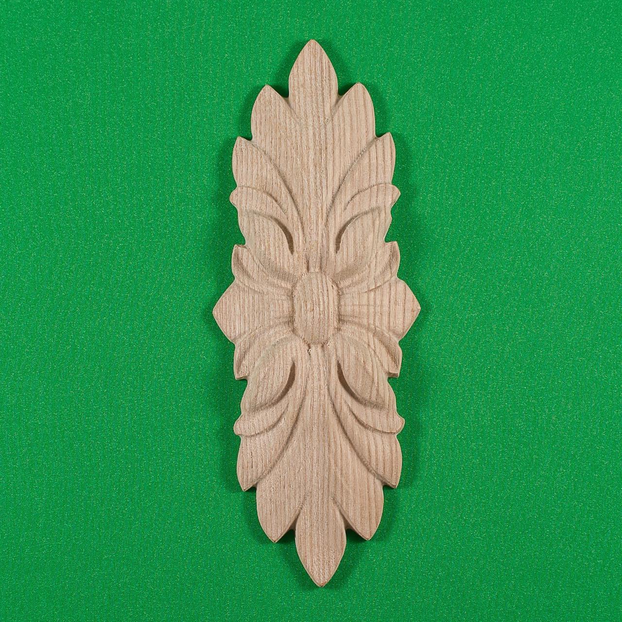 Код ДВ3. Деревянный резной декор для мебели. Декор вертикальный