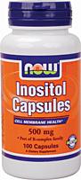 Инозитол, Inositol 500 mg (100 caps)