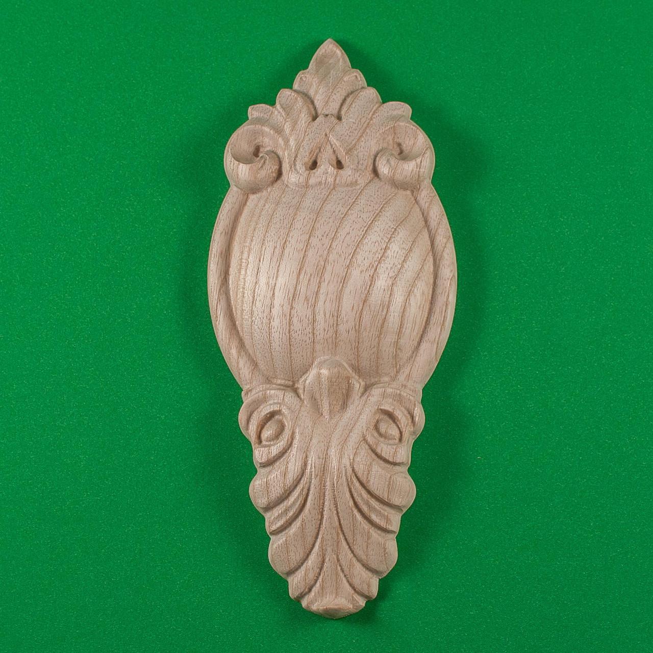 Код ДВ6. Деревянный резной декор для мебели. Декор вертикальный