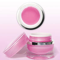 Прозрачно-розовый (Diamond Pink) моделирующий гель 15г