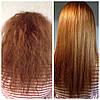 Результат после кератинового восстановления волос