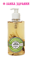 """Шампунь-бальзам для восстановления волос с протеинами пшеницы  и эфирными маслами """"ЯКА"""", 350 мл."""