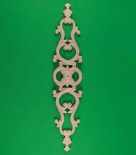 Код ДВ8. Деревянный резной декор для мебели. Декор вертикальный