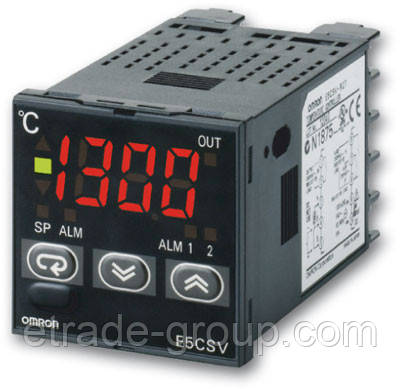 Терморегуляторы Omron серии E5CSV (E5CSV-Q1TD-500 AC/DC24)