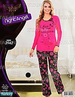 Женская домашняя одежда из Турции Night Angel 2942 S/M. Размер 44-46.