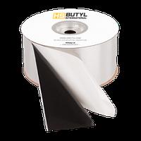 Бутил каучуковая герметик лента с алюминием 0,8 *40 мм (20 м.п. в ролле)