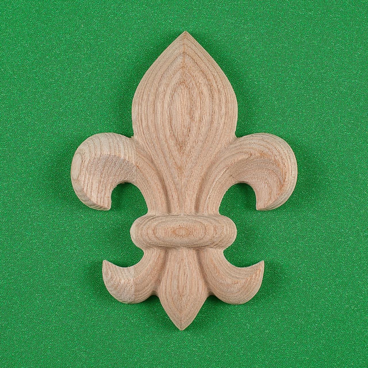 Код ДВ9. Деревянный резной декор для мебели. Декор вертикальный