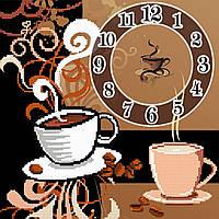 """Схема для вышивки бисером """"Кофе"""", 27х27 см"""