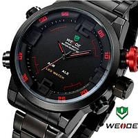 Часы WEIDE Military Watches в стиле милитари с LED подсветкой