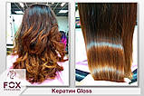 Кератин FOX GLOSS для Выпрямления и реконструкции всех типов волос НАБОР / 1000 мл*2, фото 3