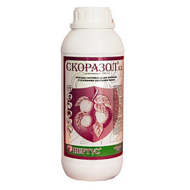 Фунгицид Скоразол ( Скор 250; Линкор) дифеноконазол 250 г/л, груша, картофель, персик, томаты, яблоня
