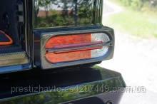 Накладки на стопы карбоновые Mercedes G-Сlass W463 Mansory