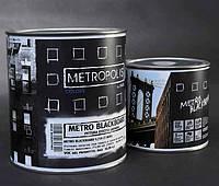 Акриловая краска с эффектом школьной доски Metropolis METRO BLACKBOARD (Италия), 0,75 л