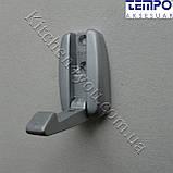 Вешалка откидная Tempo Турция 23.133.24 матовый хром, фото 5
