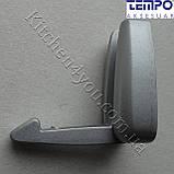 Вешалка откидная Tempo Турция 23.133.24 матовый хром, фото 7