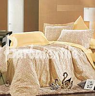 Постельное белье сатиновое двуспальное с цветами