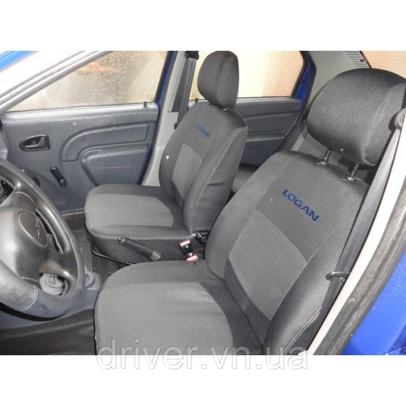 Чохли салону Dacia Logan MCV 5-ти місна 2006+ ділиться Elegant Classic EUR