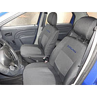 Чохли салону Dacia Logan MCV 5-ти місна 2006+ ділиться Elegant Classic EUR, фото 1
